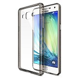 REARTH Ringke Fusion Samsung Galaxy A3 [RFSG016] - Smoke Black - Casing Handphone / Case